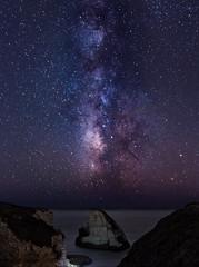 night vision (Sribha Jain) Tags: escaype escaypeday night photography milkyway galaxy stars clear pacific ocean beach sharkfincove davenport santacruz california ca