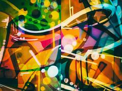 Tripdip (pni) Tags: graffiti fence color colour diptych multiexposure multipleexposure tripleexposure helsinki helsingfors finland suomi pekkanikrus skrubu pni