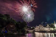 Wishes (mbone1973) Tags: fireworks magickingdon disney waltdisneyworld wishes night longexposure canon