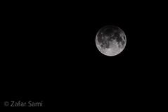 Penumbral Eclipse of the Moon (zafarsami65) Tags: 1154pm 2016 eclipse islamabad moon penumbraleclipse september16 25116 something black white somethingblackandwhite 116project