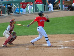 2016 Red Sox Spring Training - vs Boston College (murphman61) Tags: boston redsox baseball game exhibition springtraining bostoncollege grapefruitleague florida fl ftmyers fortmyers jetbluepark prospect bc gulfcoast