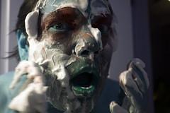 (miamatrazzo) Tags: drag queen makeup foam shaving bathroom shock faces portraits people person face