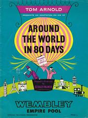 Around the World in 80 Days 1963 Wembley Ice Show (davids pix) Tags: wembley ice show 1963 aroundtheworldin80days tom arnold basil green jinx clark