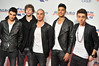 Tom Parker, Jay McGuiness, Max George, Siva Kaneswaran and Nathan Sykes of The Wanted Capital FM Jingle Bell Ball held at the O2 Arena - London