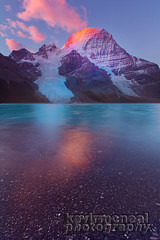 Mount Robson-Berg Lake Sunrise (kevin mcneal) Tags: lake canada mountains berg sunrise columbia mount robson british canadianrockies