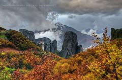 *Meteora* - Explore (george papapostolou) Tags: travel autumn mountains nature colors landscape nikon greece monastery meteora trikala kalabaka thessaly nikond7000 georgepapapostolou