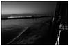 Laguna - Venise (Hervé KERNEIS) Tags: voyage sea blackandwhite bw water night lights boat eau noiretblanc nb ciel bateau venise nuit italie ville lumières vitesse mazzorbo trix400 vénétie lagunaveneta silverefexpro2 sonyrx100 voyagesaintlaurent