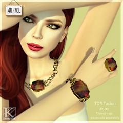 (Kunglers) TDR Fusion #002 - Jewelry set AD (AvaGardner Kungler) Tags: extra tdr kunglers avagardnerkungler statementjewelry kunglersextra
