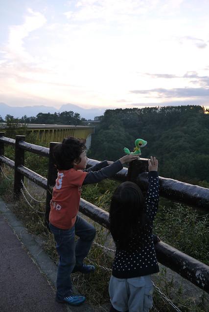 清里高原道路の写真