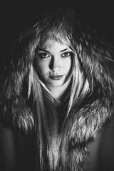 Bethany Cammack (Roj) Tags: portrait people blackandwhite bw woman monochrome mono flash models offcameraflash canon5dmkii welshot sigma85mmf14exdghsm bethanycammack