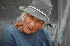 Intrigue (Alex E. Proimos) Tags: poverty street woman lady mujer homeless poor