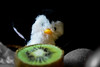 "Do you dare taking my vitamin C, A, and E?  Mr.Penguin's Adventures {1/∞} (Noor Al-janabi ""N.J"") Tags: white black green fruits yellow fruit penguin c e dare kiwi taking vitamin kewi اسود اخضر بطريق اصفر ابيض vitamn كيوي نصف احادي ميوي"