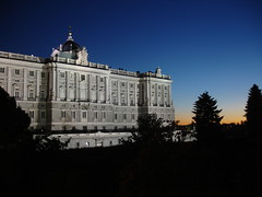 Madrid Palace Sunset 2 (Tom Reville) Tags: madrid sunset palace clear