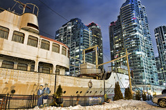 captain John's (John-Paul Darby) Tags: toronto abandoned water restaurant boat lakeontario seefood