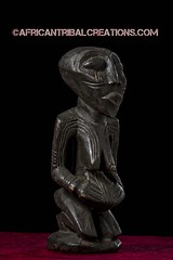 SongyeFigure003d (African Tribal Creations) Tags: africa wood old sculpture woman statue atc antique african mother tribal carving maternity figure congo drc patina creations songe democraticrepublicofcongo songye wasonga songhay basonge bassongo basongye bayembe