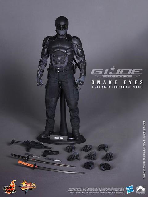 Hot Toys - 特種部隊2:正面對決 - 蛇眼