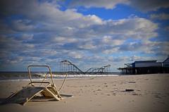 DSC_6491 (Christina Nalio) Tags: sky beach clouds pier sandy rollercoaster jetstar jerseyshore seasideheights casinopier hurricanesandy