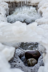 Points Of View (k.bartzsch) Tags: new york houses camp lake snow ontario cold abandoned nature upload waterfall nikon hiking hike urine mass bluffs generic titles pultneyville d5100