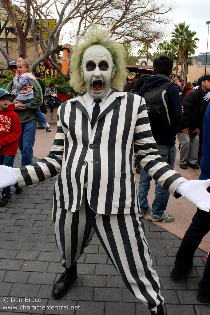 Beetlejuice at Disney Character Central