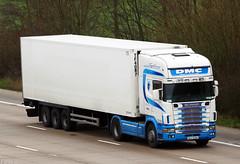 Scania 144L 99-C-23204 (gylesnikki) Tags: ireland irish white truck artic dmc heavyhaulage