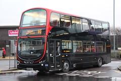 Transdev Harrogate & District BF62UXZ leaving Burnley Bus Station. (Gobbiner) Tags:
