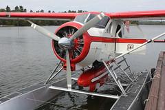 Ely Minnesota 2011 . DHC 2 Beaver float-plane at Ely MN seapllane base. USFS . (Bob Symes) Tags: floatplane usfs elymn dhc2beaver minnesota2011