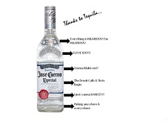 Thanks to Tequila (cathrynkitchka) Tags: college drunk hilarious funny comedy lol tequila drinks alcohol alcoholic passedout popular omg memes josecuervo blackedout funnymemes alcoholmemes