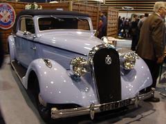 Hotchkiss 486 Biarritz 1936 (tautaudu02) Tags: auto cars automobile moto coches biarritz voitures 2012 hotchkiss 486 rétro epoquauto epoqu