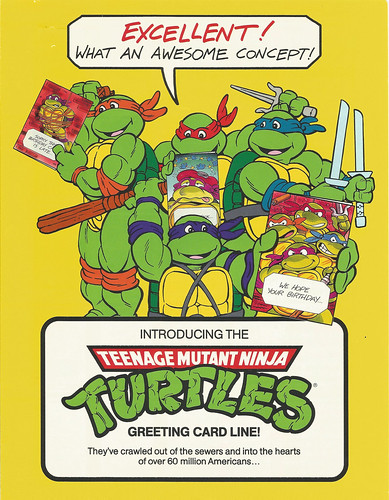 Flickriver photos from go green machine 1989 tmnt greeting cards 2 bookmarktalkfo Gallery