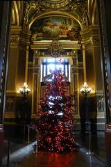 Dark tree (b16dyr) Tags: paris france architecture gold golden murals christmastree goldleaf palaisgarnier parisopera baroquearchitecture operanationaldeparis thegrandfoyer