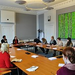 "<b>Meeting with Members of the Danish Parliament</b><br/> ""Islam in Europe,"" J-Term 2013<a href=""http://farm9.static.flickr.com/8212/8391400637_6828ba9474_o.jpg"" title=""High res"">∝</a>"
