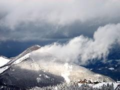 Temps mitig  Guzet (Arige/Pyrnes) (PierreG_09) Tags: ski neige pyrnes pirineos arige ustou guzet couserans