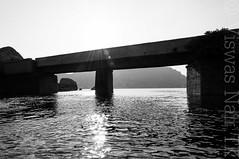 Sanapur bridge (Viswas Nair TK) Tags: bridge india lake nikon dam south reservoir karnataka hampi d90 tungabadra 18105mm sanapur