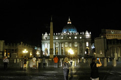 Late Evening in Rome (Jocey K) Tags: windows people italy sculpture rome detail building architecture night buildings lights domes cosmostour6330