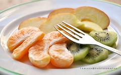Just fruit!! (Tawaah Ahmad) Tags: red orange green apple fruit nikon just kiwi d90