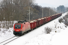 2013.01.27 | 1116 001-7 | Herend (Davee91) Tags: winter snow train canon austria hungary taurus railways freight bb bakony 500d gterzug rch herend railcargo es64u2 railspot