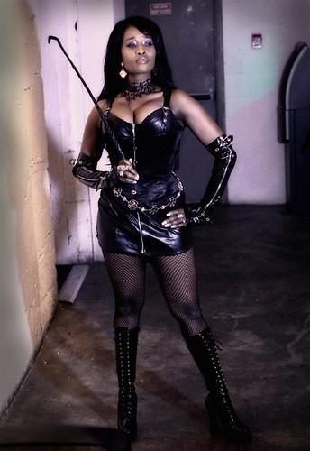 Superstar Dominatrix Style Queen Sabine Mondestin