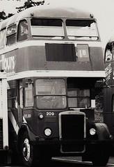 RTL531 in yard of Gray Line sightseeing tours U.S.A (Ledlon89) Tags: usa bus london transport lt leyland londonbus graylinetours rtbus alltypesoftransport