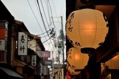 Pontocho (Giopuppy) Tags: street japan lanterne paper nikon kyoto december via tiny    lantern dicembre giappone carta lanterna pontocho viuzza insegne  chouchin     d3100 nikond3100