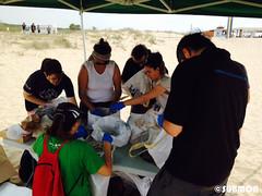 Limpieza playa Viladecans8 (Submon) Tags: viladecans limpieza playa neteja platja basura marina marine litter cleanup voluntario volunteer