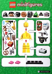 LEGO Collectable Minifigures Series 11 (71002) (Pasq67) Tags: lego minifigs minifig minifigure minifigures afol toy toys flickr pasq67 series11 2013 series 11 promotional poster 71002
