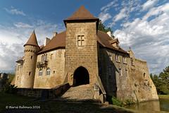 03 Buxières-les-mines - La Condemine Château