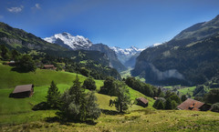 Lauterbrunnen Valley (marylouiseshoemaker) Tags: switzerland details berneroberland wengen lauterbrunnen