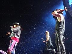 "Guns N' Roses ""Not in This Lifetime"" Phoenix (srmendez2) Tags: gunsnroses guns n roses axl rose slash duff mckagan richard fortus frank ferrer melissa reese notinthislifetime gnfnr phoenix rock ro"