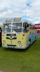 1958 Reg: RSL 383 AEC Reliance fitted with a Roe Dalesman 35 seat coach body. In the livery of George Atkin of Caistor, Lincolnshire (bertie's world) Tags: lincolnshire steam rally 2016 lincoln showground 1958 reg rsl383 aec reliance roe dalesman35 seat coach body livery george atkin caistor