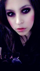 Face (alieronquillo) Tags: pose black pink heart love loving light beautiful makeup face fave beauty snap