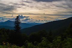 Buck Springs Gap Overlook (EHPett) Tags: blueridgeparkway northcarolina scenic overlook vista mountains clouds peaks forest