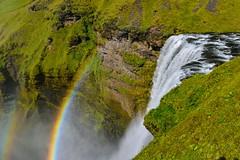 Skgafoss (Bohbrus) Tags: regenbogen skgafoss wasserfall island2016 isl island skogar suurland geo:lat=6353184333 geo:lon=1951068333 geotagged suurland skgafoss