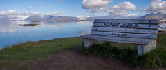 Hornafjordur (P8062124_P8062125-2 images_1280) (dr_cooke) Tags: islandia iceland hfn panorama bench banco glaciares glaciers