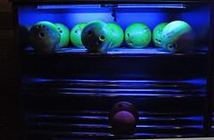 Bowling (skipmoore) Tags: anaheimbowlmor bowlingballs blacklight
